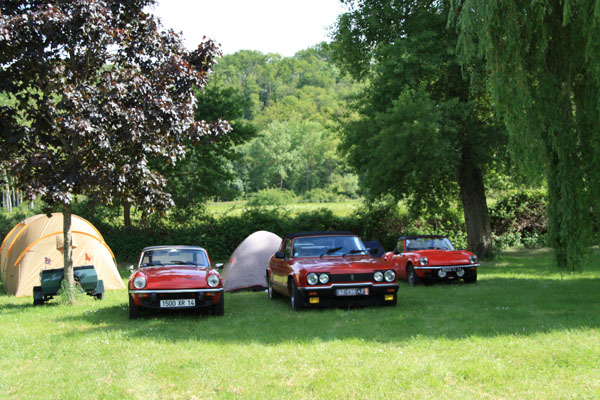 Camping Châteaux de la Loire 2012